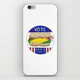 Birdie Sandwich iPhone Skin
