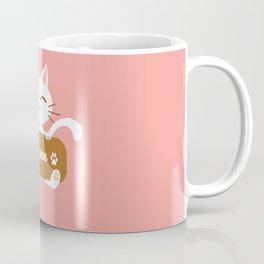 Hug Me Nyanko Coffee Mug