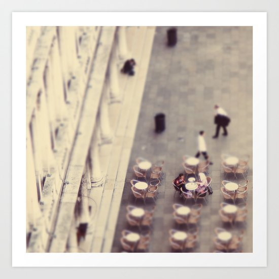 Cafeteria Venice Italy Travel Photography Art Print