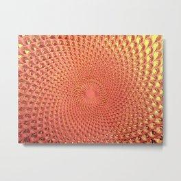 Glass Concentric Metal Print