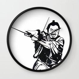 Toshiro Mifune//Yojimbo Wall Clock