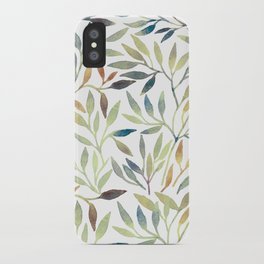 Leaves 5 iPhone Case