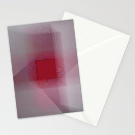 Red Cross Stationery Cards