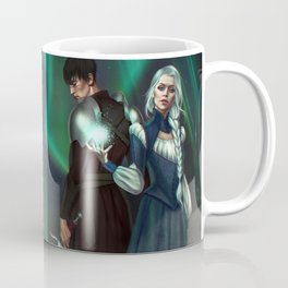 Snow Queen Sacrifice by K.M. Shea Book Cover Coffee Mug
