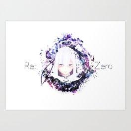 Emilia Best Girl Art Print