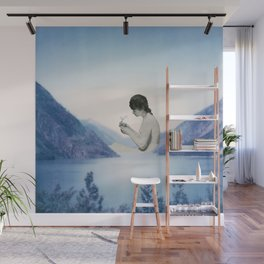 Her happy place Wall Mural