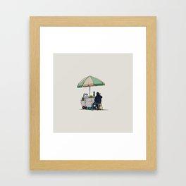 Naranjas Framed Art Print