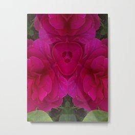 Velvet Roses Metal Print
