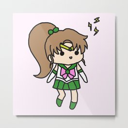 Sailor Jupiter Chibi Metal Print