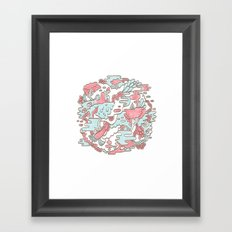 Swamp Jam Framed Art Print