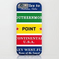 USA Florida Cuba Slim Case iPhone 6s