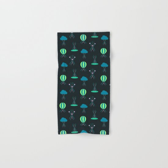 Bioluminescence Hand & Bath Towel