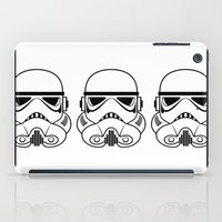 stormtrooper iPad Cases featuring Stormtrooper by Nicole Dean