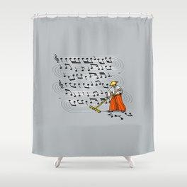 Japanese Zen Garden Song Shower Curtain