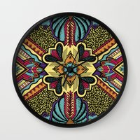 persian Wall Clocks featuring Persian by Guanabana
