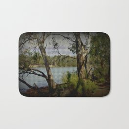 The Mighty Murray River Bath Mat