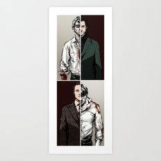 Hannibal - The Tables Are Turning Art Print