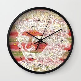 Bob Dylan #7 Wall Clock
