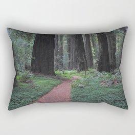 Avenue of the Giants - Redwood National Park Rectangular Pillow
