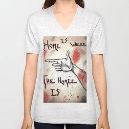 Home= Unisex V-Neck