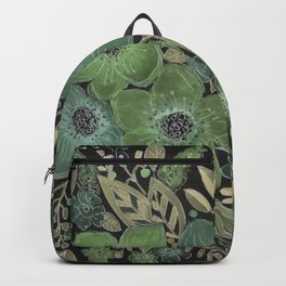 Watercolor . Night . Backpack