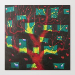 Window Tree Canvas Print