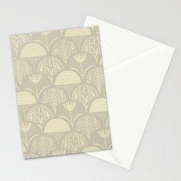 Sketched Tan Botanical Stationery Cards