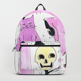 ghost aesthetic Backpack