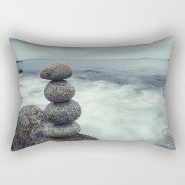 Maintain the Balance Rectangular Pillow