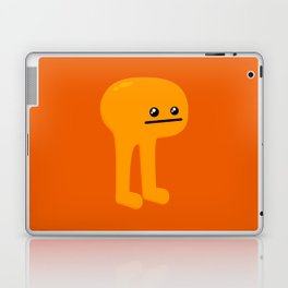 Orange Leggy Laptop & iPad Skin
