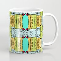 booty Mugs featuring Booty by Patty Hogan