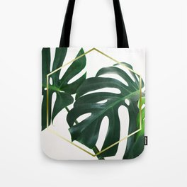 LUXE x Plant Life - Gold white planets lush Tote Bag