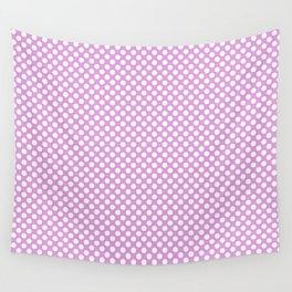 Polka Dots Pattern-Violet Wall Tapestry