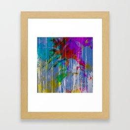Texture of Summer Framed Art Print