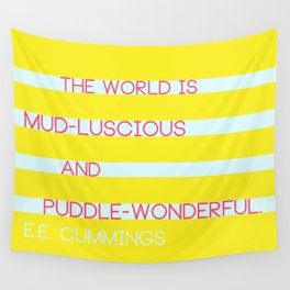 Puddle Wonderful Wall Tapestry
