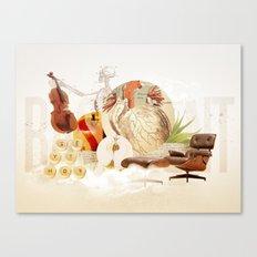 The Basement Canvas Print