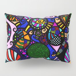Symmetry is for fools Pillow Sham