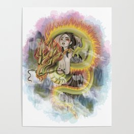 Dragon Princess Poster