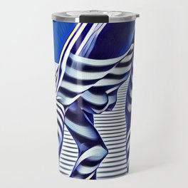 9244-KMA_5206 Sexy Blue Striped Nude Bending Down Looking Back Travel Mug