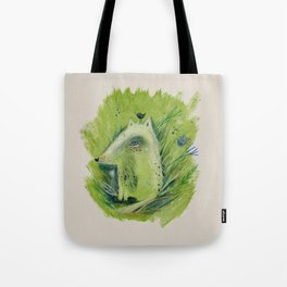 A very good Wolf Tote Bag