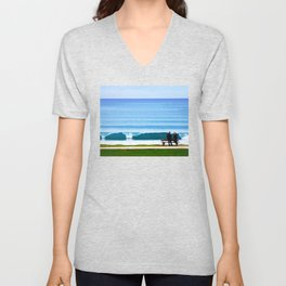 Wave Goodbye Unisex V-Neck