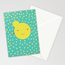 miss little sunshine Stationery Cards