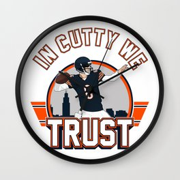 """The Victrs """"In Cutty We Trust"""" Wall Clock"""