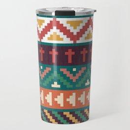 Southwestern Pattern Travel Mug
