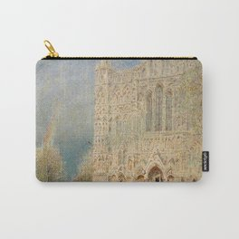 Salisbury Cathedral, English Landscape by Albert Goodwin Carry-All Pouch