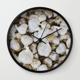 Garlic cloves Wall Clock