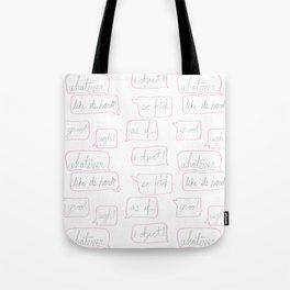 Girl World Tote Bag