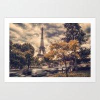 La Tour Eiffel_01 Art Print