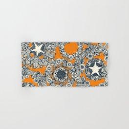 cirque fleur papaya Hand & Bath Towel