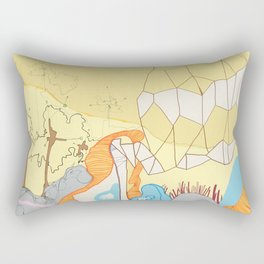 Free Energy Rectangular Pillow